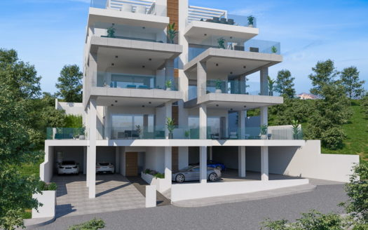 2 Bedroom penthouse with roof garden for sale in residential area