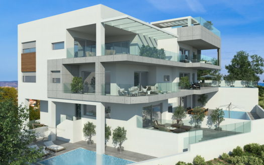 4 Bedroom duplex apartment for sale in residential area