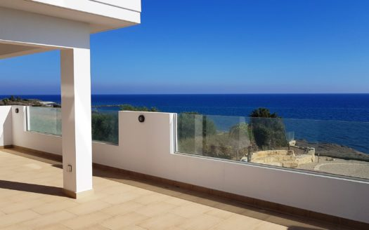 Beautiful 4 bedroom villa on the sea front for sale