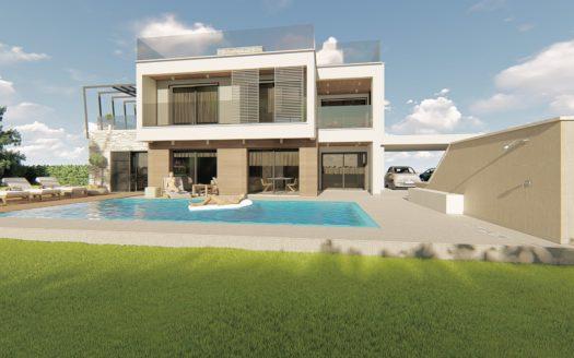 4 Bedroom villa for sale in Trachoni