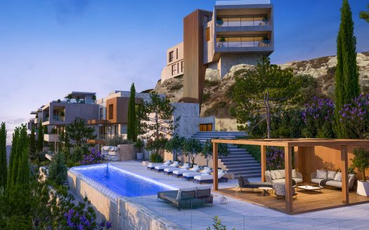 Modern 3 bedroom penthouse in a prestigious area