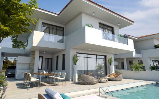 Modern 4 bedroom villa for sale in Larnaca