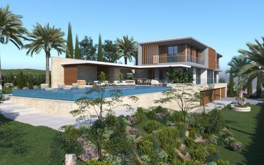 Super luxurious villa in Mouttagiaka, Limassol