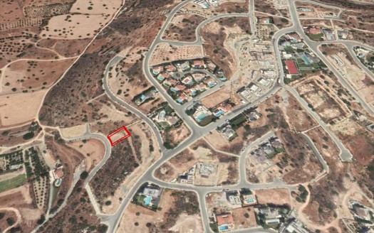 Available plot for sale in Paniotis, Limassol