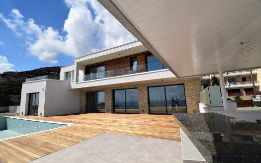 Super Modern Luxury Sea View Home in Peyia