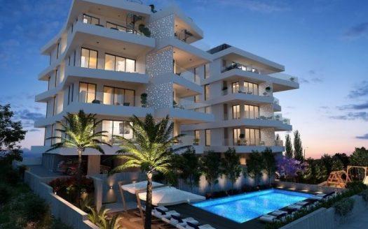 Luxury 2 bedroom penthouse in Germasogia Village