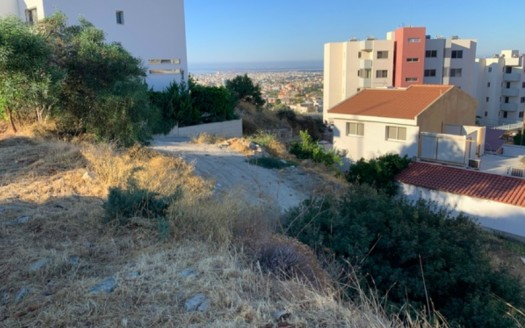 Plot in Agia Fyla with unobstructed views