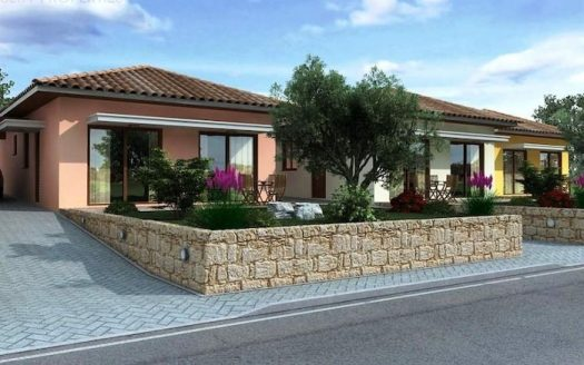 3 bedroom bungalow in a large plot in Souni, Limassol