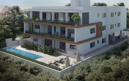 Under construction 3 bedroom apartment in Potamos Germasogeias
