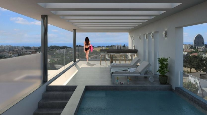 Galaxia 24 penthouse for sale in Limassol