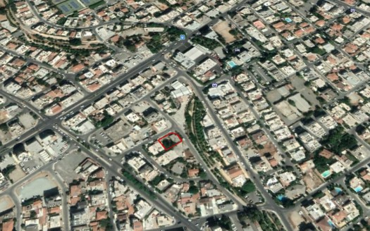 Plot for sale in Agios Ioannis area, centre of Limassol