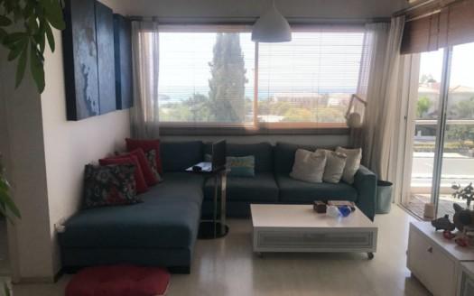 Cozy 2 bedroom apartment in Pareklisia sea front