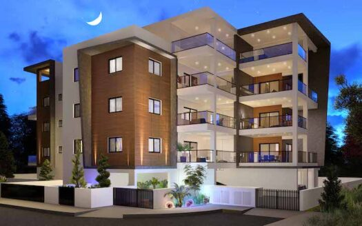 2 bedroom apartment in Ypsonas on the top floor