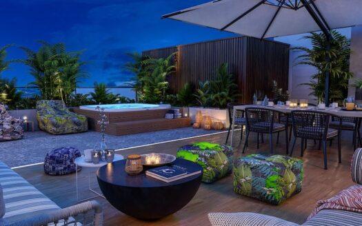 Luxury 4 bedroom penthouse for rent in Potamos Germasogeias