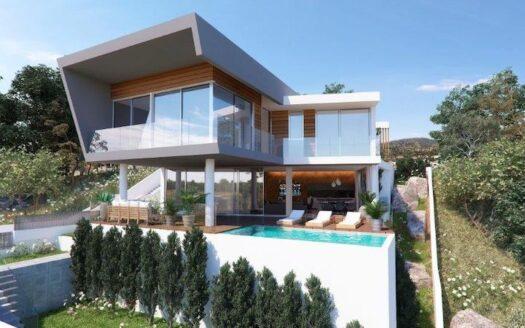 Luxury 5 bedroom villa for sale in Agios Athanasios