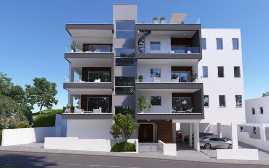 Top floor apartment with roof garden for sale