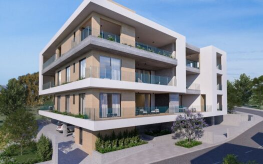 Top floor 4 bedroom apartment for sale in Germasogeia