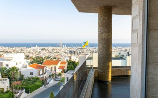 3 Bedroom sea view penthouse for sale in Panthea