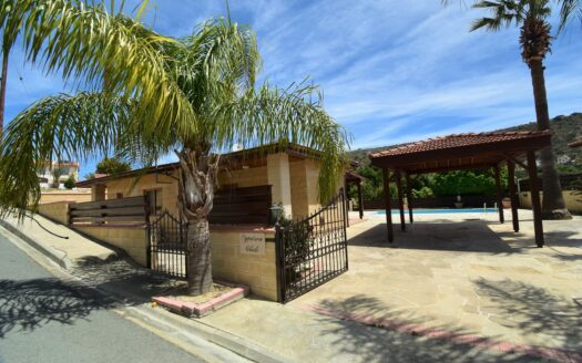 Pissouri Bay 3 Bedroom Bungalow with Private Pool