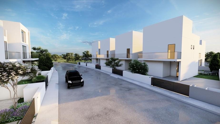 3 Bedroom luxury detached house in Germasoyia