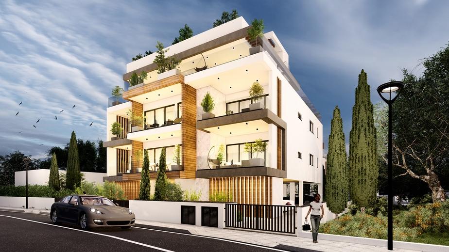 3 Bedroom Penthouse in Parekklisia