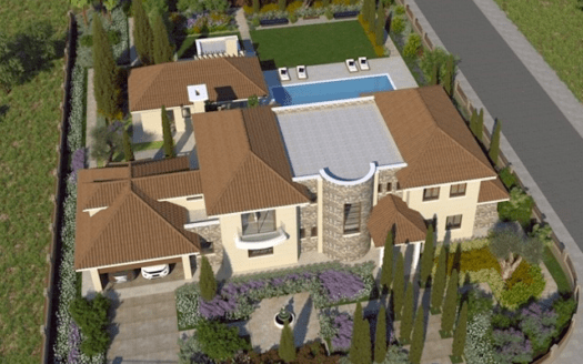 Luxury 6 bedroom mansion for rent in Pyrgos area