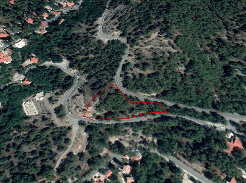 Land for sale in the unique village of Platres