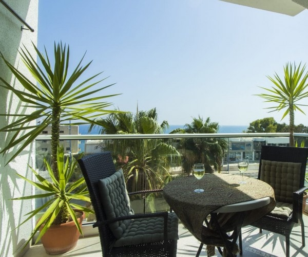 1 Bedroom apartment with the sea view