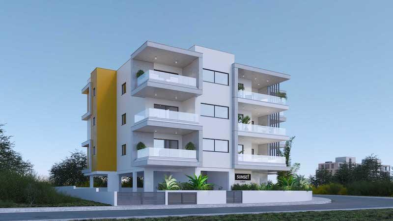 Off plan 2 bedroom apartment for sale in Agios Spyridonas