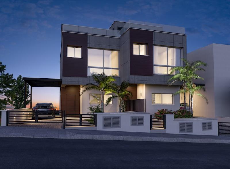 Modern 4 bedroom semi detached house for sale