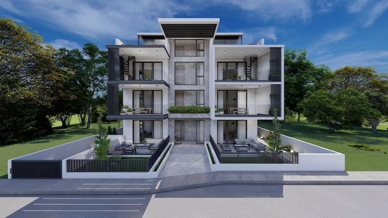 2 bedroom garden apartment for sale in Agia Fyla