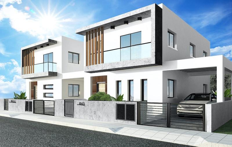 Detached 4 bedroom house in Kato Polemidia