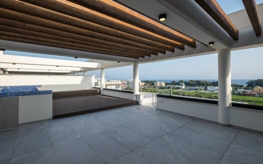 3 bedroom penthouse for rent in Potamos Germasogeias
