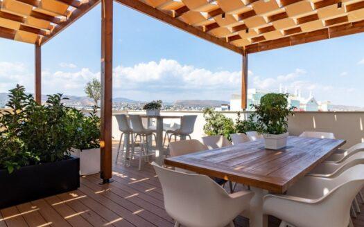 Duplex 4 bedroom penthouse in Potamos Germasogeias for rent