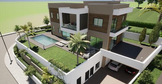 Luxury villa for sale in Mouttagiaka area