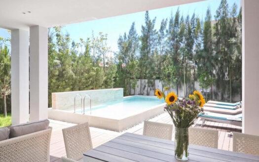 Lovely detached 4 bedroom house for rent in Potamos Germasogeia