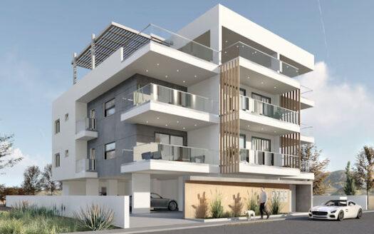 Contemporary 2 bedroom apartment for sale in Agios Spyridonas